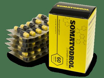 dodatak prehrani Somatodrol kako funkcionira, komentari, proizvođač, ljekarna